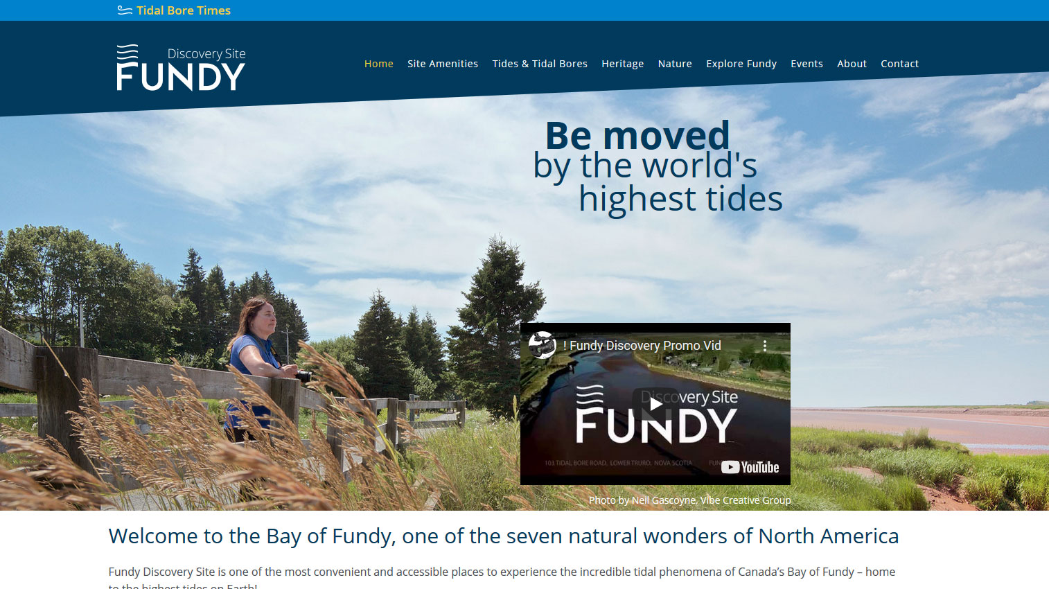 Fundy Discovery Site