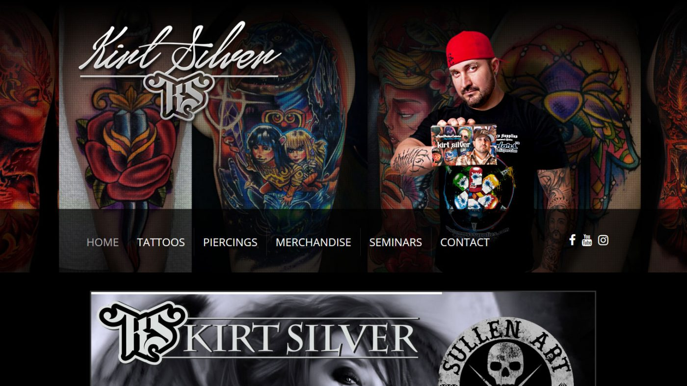 Kirt Silver Tattoo